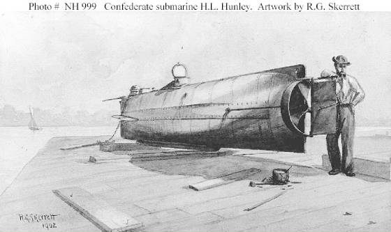 War Submarines Today Civil War Submarine.jpg