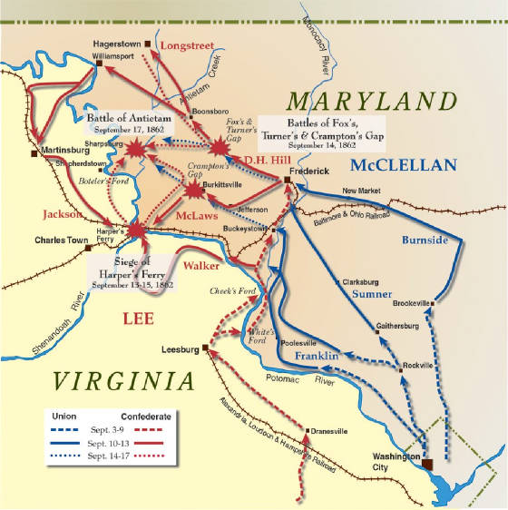 Battle of antietam civil war antietam battle casualties army