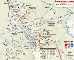 Civil War Battle of Manassas Map.jpg