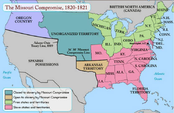the compromise of 1820 and 1850 Some of them were missouri compromise and the compromise of 1850 that succeed in stopping of slavery in some ways the missouri compromise was an agreement between the north and the south and passed by congress in 1820 that allowed missouri to be admitted as the 24th state in 1821.