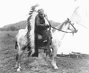The gallery for --> Quanah Parker On Horse