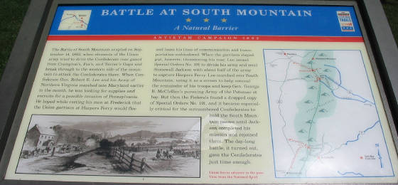 Battle of South Mountain Historical Marker.jpg