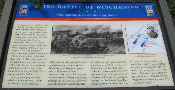 3rd Battle of Winchester Civil War Marker.jpg
