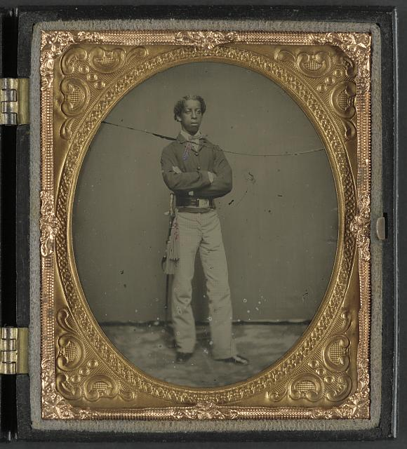 African American Civil War Cavalry soldier.jpg