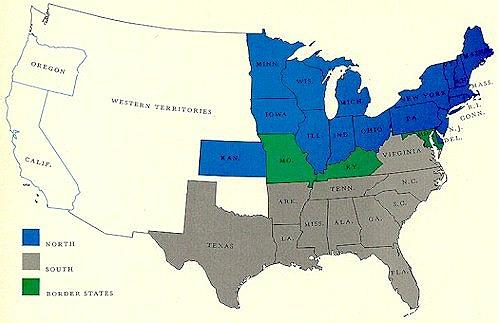 American Civil War States Map American Civil War Map.jpg