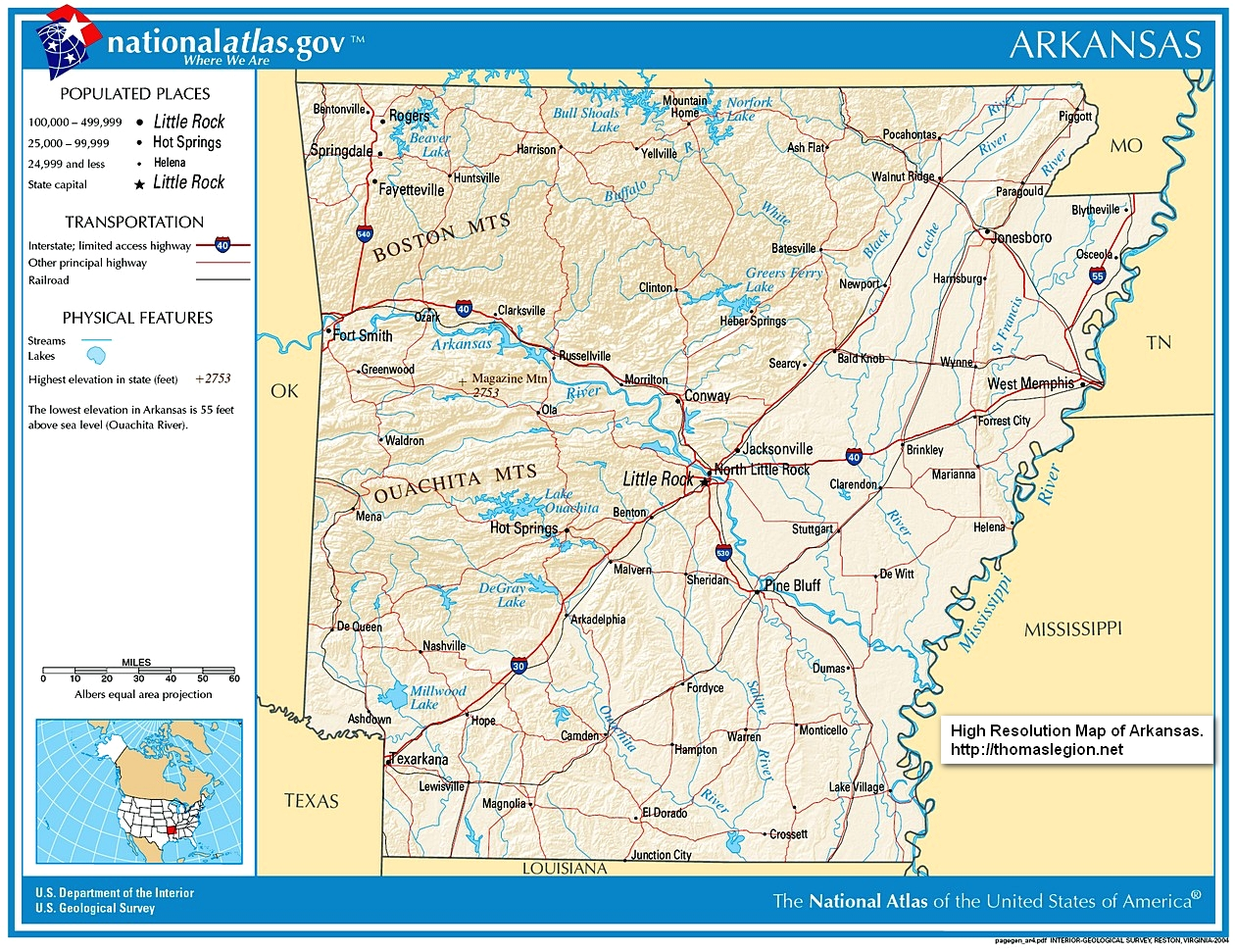Arkansas Civil War History Battles Army Soldiers Casualties - Native american tribes arkansas map
