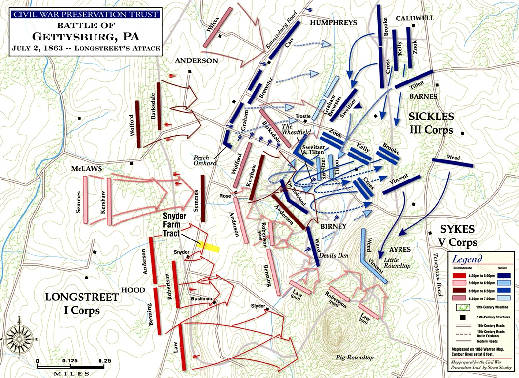 account of the 2nd day of july 1863 of the civil war The battle of gettysburg july 2nd, 1863 those interested are urged to obtain a transcription from the pearce civil war the council of war on the second day.