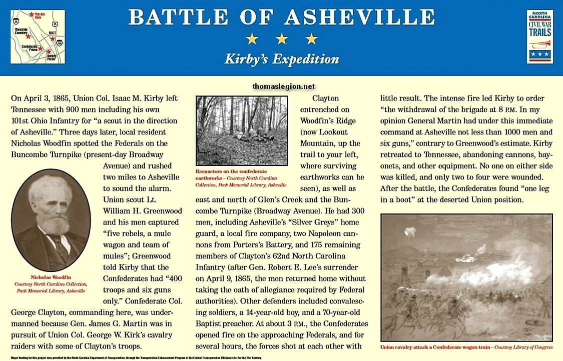 Battle of Asheville Marker.jpg