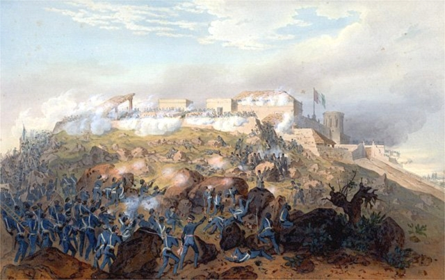 Battle of Chapultepec in the Mexican War.jpg
