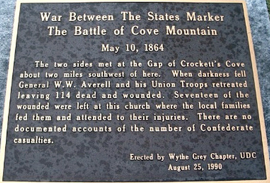 Battle of Cove Mountain Marker.jpg