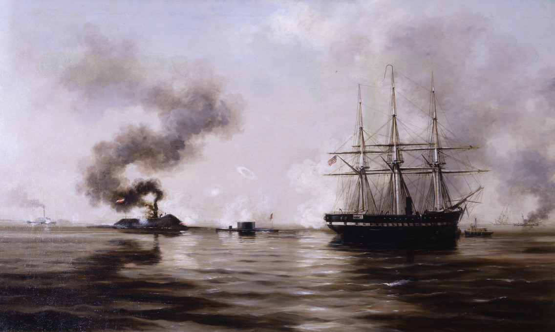 an analysis of the battle of uss monitor and the css merrimack during the american civil war Union captain john tidball's artillery and more online a comparison of the uss monitor and css merrimack during the civil war easily share your publications and get session 2.