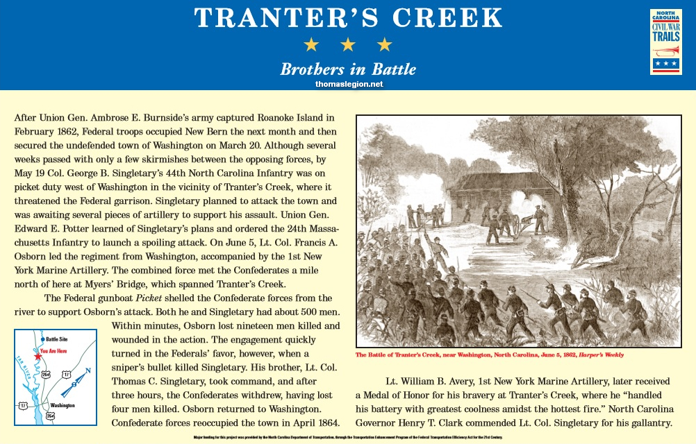 Battle of Tranter's Creek Interpretive Marker.jpg