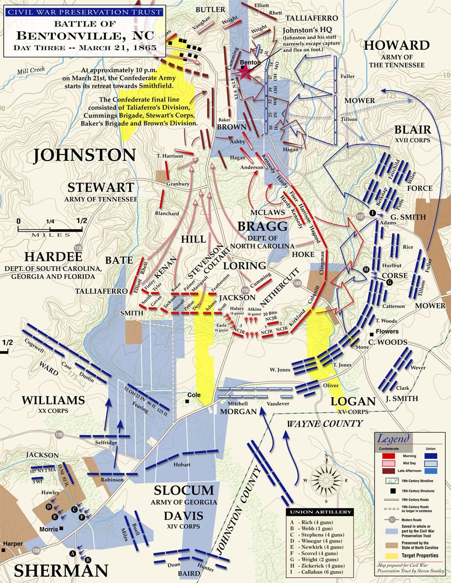 Civil War Battle Bentonville Map.jpg