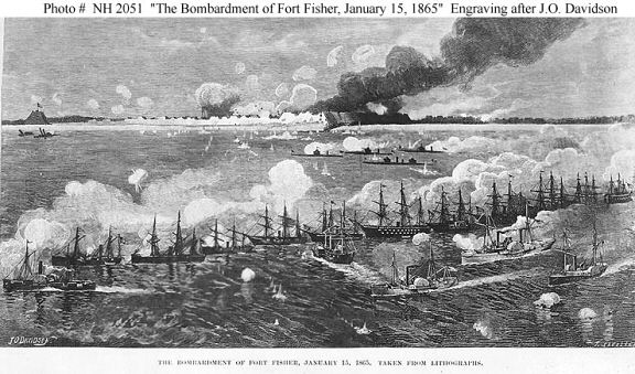 The US Naval Bombardment of Fort Fisher.jpg