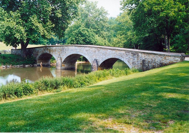 Burnside Bridge : Battle of Antietam.jpg