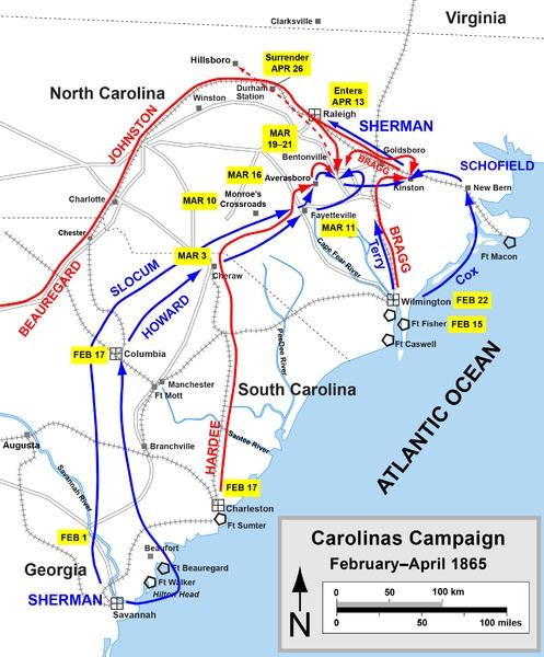 Battle of Bentonville Casualties Civil War History Surrender