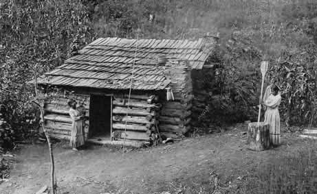 Cherokee Home 1800s Photo Picture Photograph Indian House