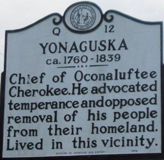 Cherokee Chief Yonaguska