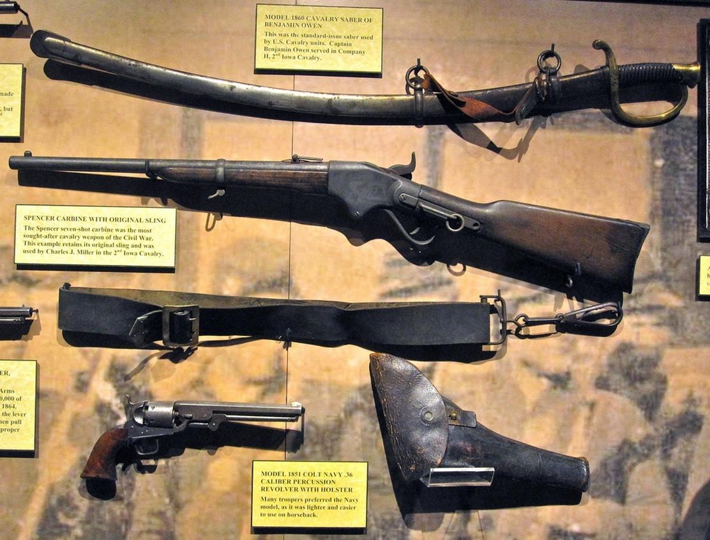 Rifle Gun Civil War Civil War Revolver Rifle