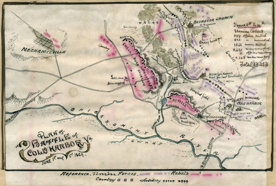 Cold Harbor Civil War Map.jpg