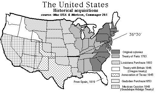 Compromise of 1850 History Summary Slavery Compromise Map US