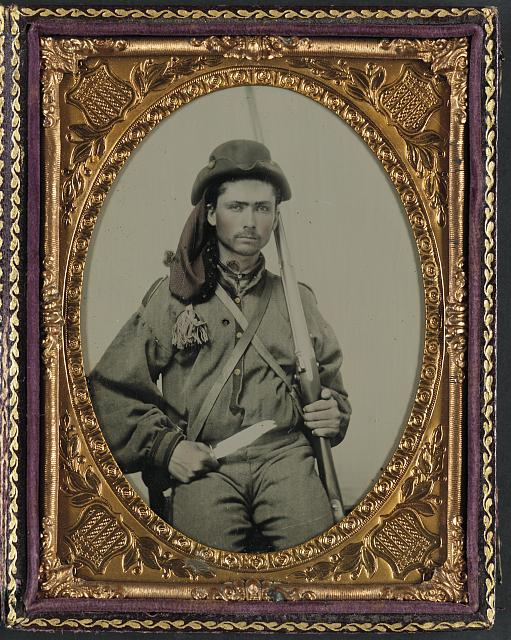 Confederate trooper with musket.jpg