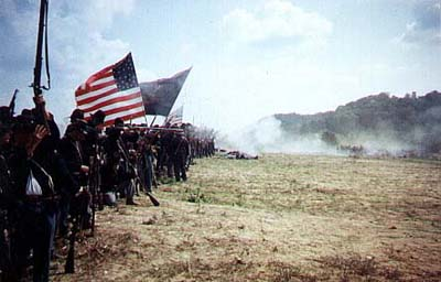 Civil War Infantry firing by rank and file.jpg