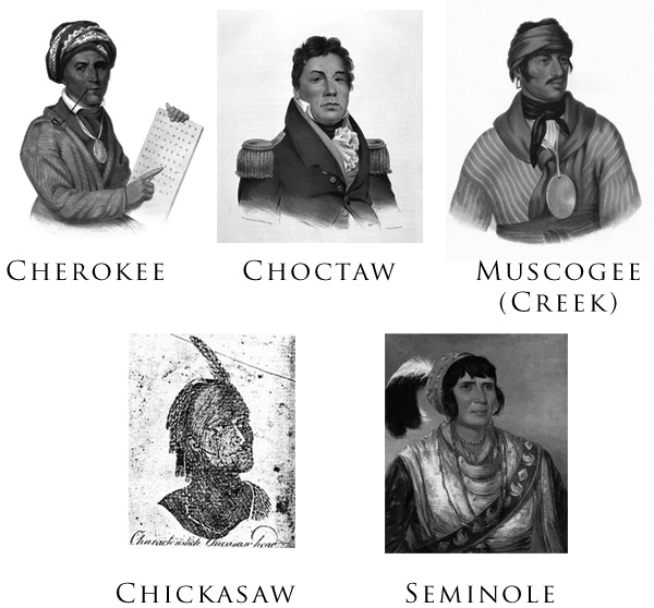 Five Civilized Tribes Indians.jpg