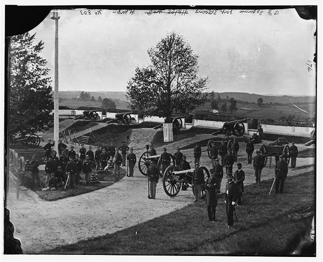 Photo of Fort Stevens Washington DC Civil War.jpg