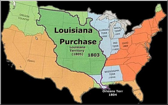 Louisiana Purchase Agreement Map