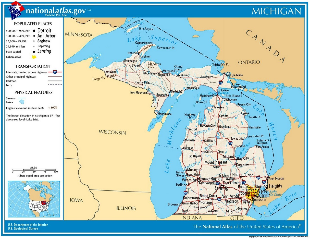 Michigan Civil War History Battles Casualties Army Soldiers - Michigan state map with cities