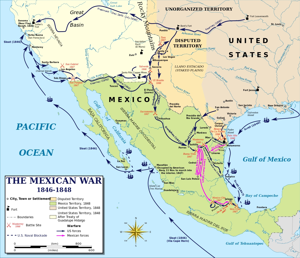 the background of the united states mexican war The mexican american war was a conflict between the united states and mexico introduction/background the mexican american war began on april 25 the united states - mexican war (1846-1848) the united states.