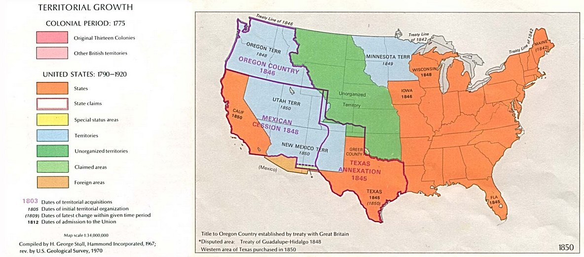 Treaty of Guadalupe Hidalgo Summary Treaty History Facts Map