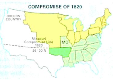 Compromise Of 1820 Map Images Amp Pictures  Becuo