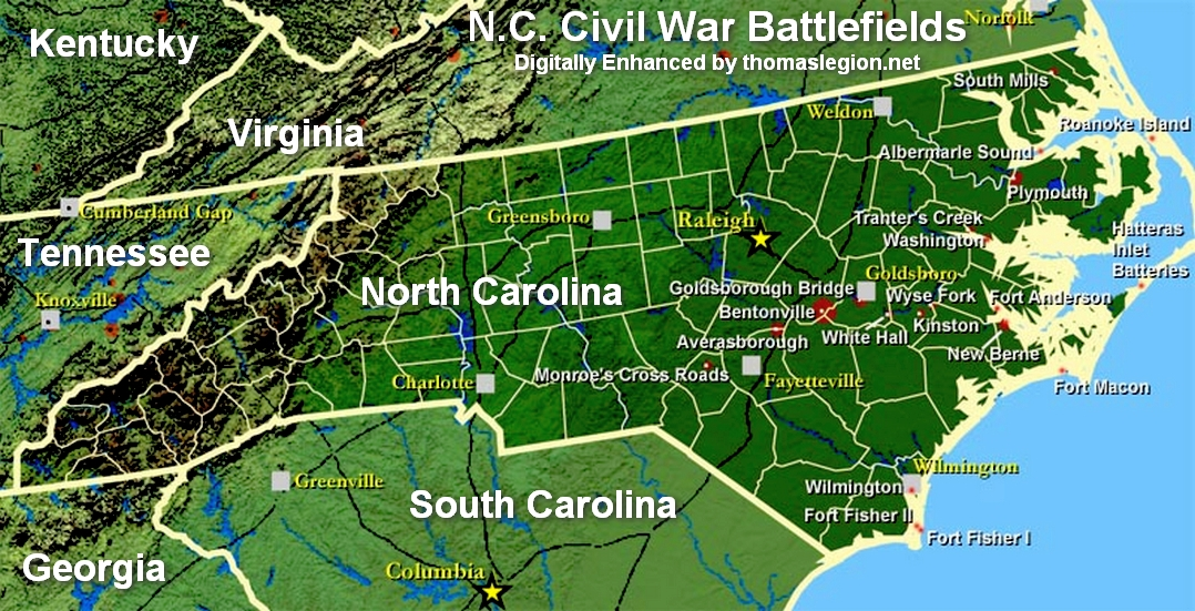 Battle of Tranter's Creek Map.gif