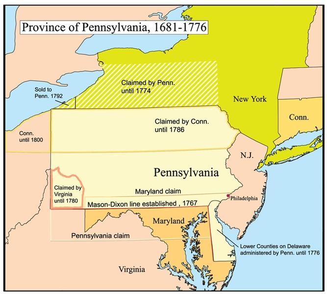 Pennsylvania Civil War History Map Battle Gettysburg Address