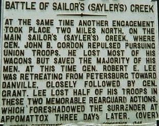 Battle of Sailor's Creek Historical Marker.jpg