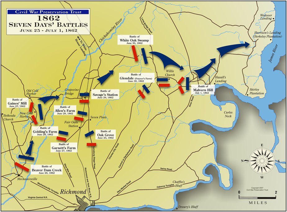 Seven Days Battles Around Richmond Map.jpg