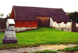 Sickles Marker and the Trostle Barn.jpg