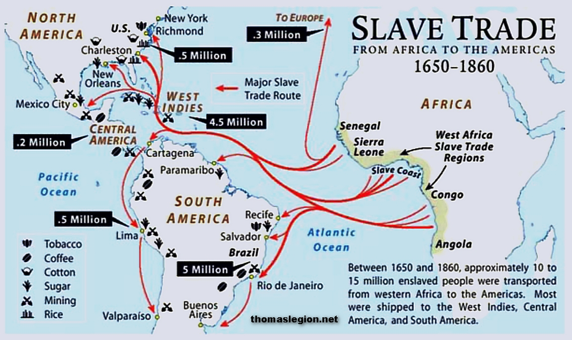 the genesis of slavery in america during the african slave trade era In the early modern era, an increasingly integrated and cohesive atlantic world  began to emerge the atlantic was the first ocean in the history of the world to be   for tribalism, was particularly important among anglo-american slaves.
