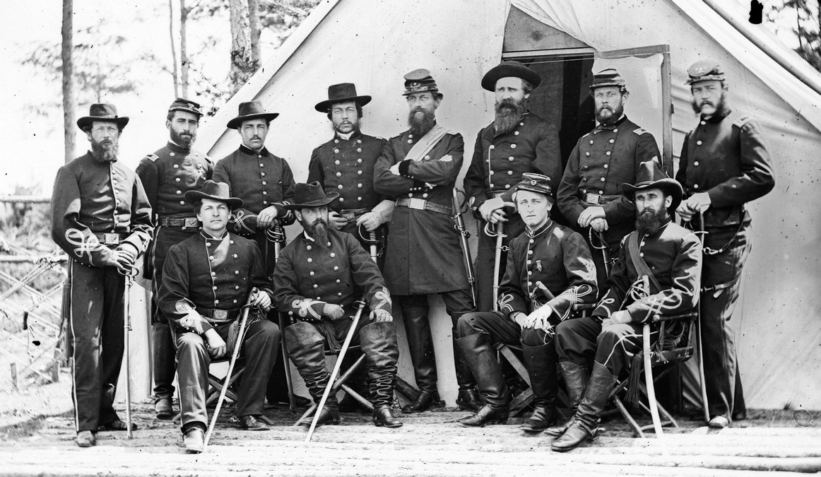 Gen. George Stoneman and staff.jpg