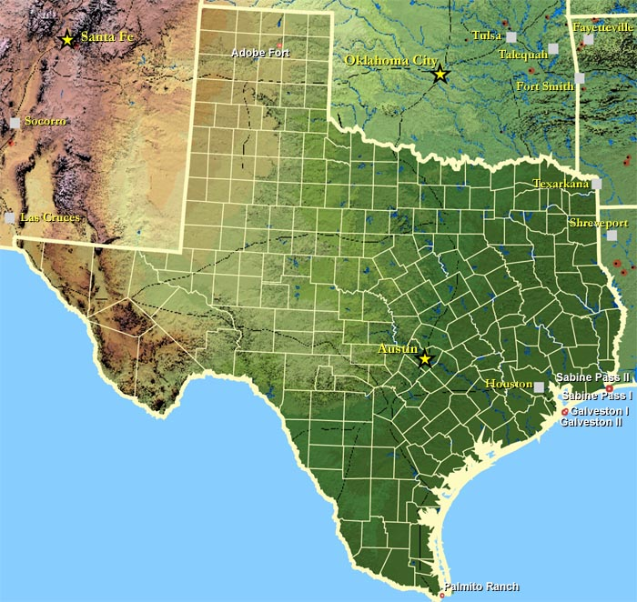 Texas Civil War Battlefield Map.gif