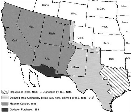 an analysis of the annexation of texas to the united states and the treaty of guadeloupe hidalgo