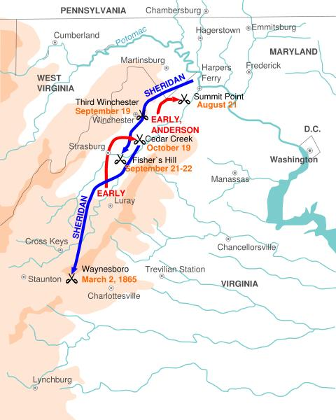 Shenandoah Valley Campaigns of 18641865
