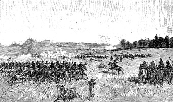 A Union cavalry charge at Gettysburg.jpg
