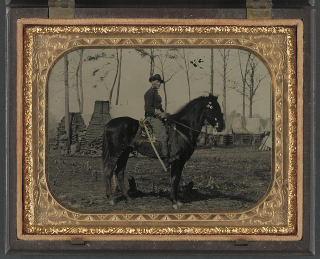 Union Cavalry soldier atop steed.jpg