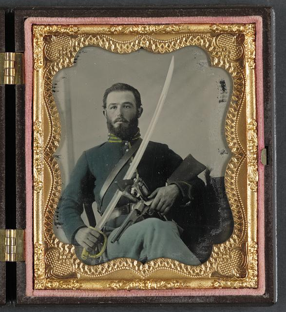 Civil War Cavalry Carbine and Saber.jpg