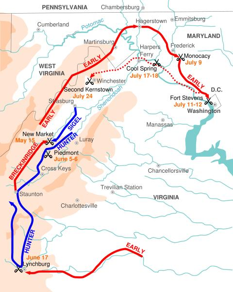 Gen. Early route from Lynchburg to Washington.jpg