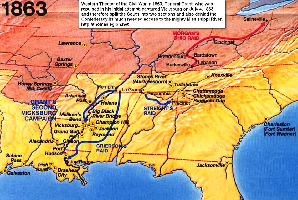 Battle Of Vicksburg Map Jpg