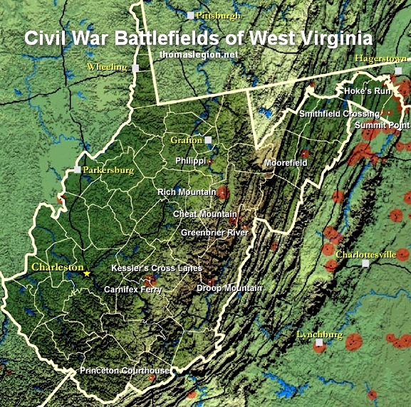 West Virginia Civil War Map of Battlefields.jpg